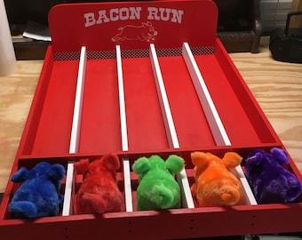Bacon Run Pig Racing Carnival Game