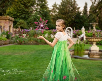 Castle Garden Digital Background for Whimsical, Princess and Knight Photography Sessions