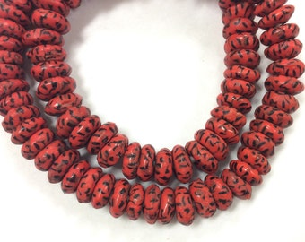 African Art Ghana Krobo Glass trade beads