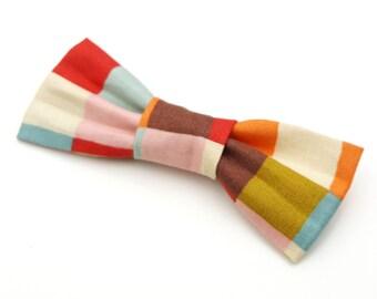 Small Bow Tie - Elmer Check
