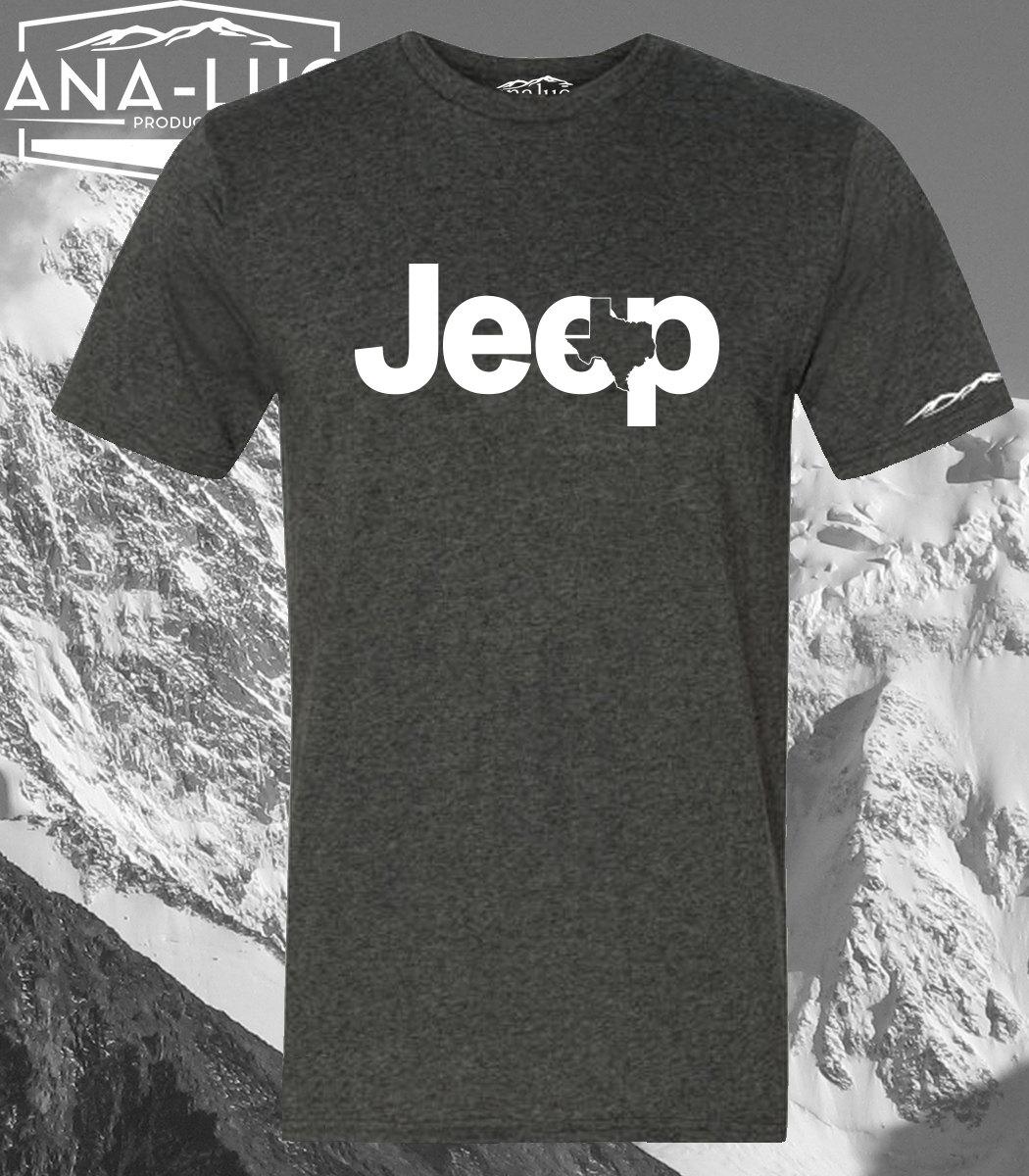 Jeep Shirt Jeep Wrangler Shirt Texas Jeep Logo - Jeep logo t shirt