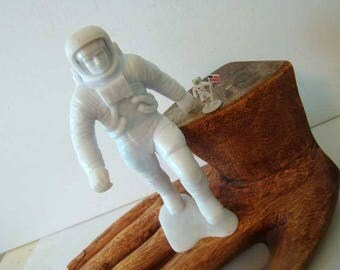 Louis Mark Astronaut figurine, Vintage Astronaut figurines, Astronaut doll, Space home decor, 2 astronauts