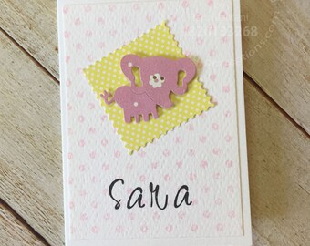 Set of 12 Personalised notecards,babygifts,birthdaygifts,returngifts,partysupplies,customised,individualgifts