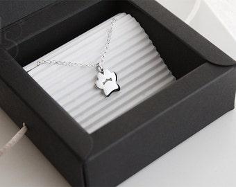 Handmade Pawprint Pendant. Dog pawprint. Cat pawprint. Silver pawprint pendant.