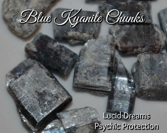 BLUE KYANITE for Lucid Dreaming Psychic Protection and Vision Quests