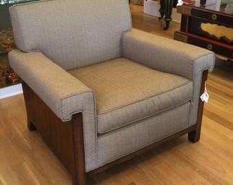 Exquisite Nancy Corzine Art Deco Designer Club Chair