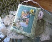 Easter Pillow - Victorian Easter Decor - Handmade Easter Pillow - Best Easter Pillows