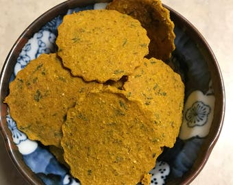 Pumpkin and Parmesan Cheese Grain Free Dog Treats Cookies Biscuits