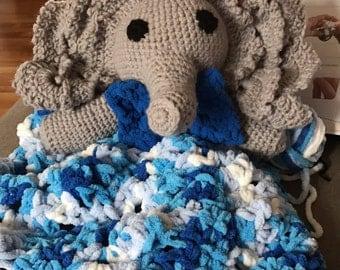 Amigurumi Elephant Snuggle Blanket By Lovetocrochet Craftsy