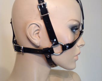 Vegan Open-Faced Head Harness (Style 2)