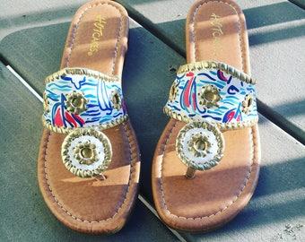 You Gotta Regatta Inspired Sandals