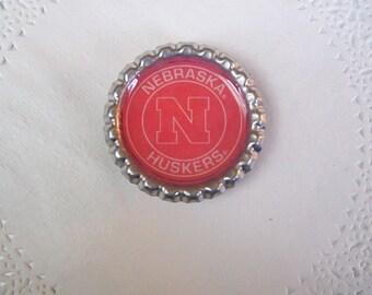 Nebraska Cornhuskers Magnet (70) - Huskers Refrigerator magnet -- Office magnet - sports magnet