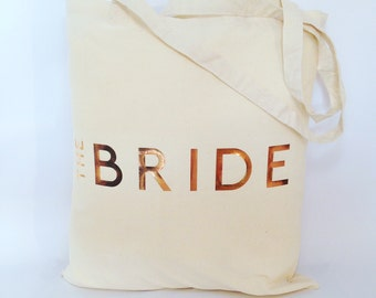 Metallic Wedding/Hen Weekend Tote Bag