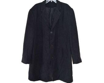 Vintage men coat wool