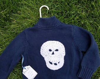 Skull Sweater size 2T