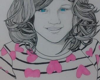 Portrait Illustrations [commission work]