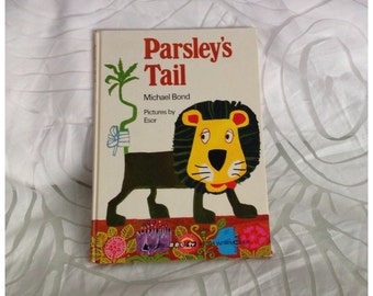 Parsley's Tail by Michael Bond (The Herbs Story Books), BBC TV Watch with Mother, Hardcover, 1969