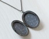 Constellation Locket Necklace Big Dipper/Little Dipper