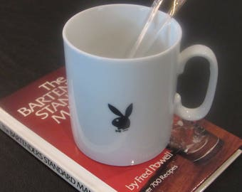 Vintage Playboy Coffee Mug Iconic Men's Club Memorobilia Collectible Glassware