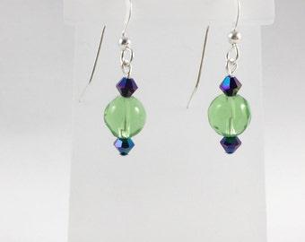Swarovski Crystal and Glass Earrings