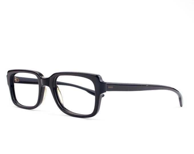 60s Vintage Eyeglasses   Bausch & Lomb Horn-Rimmed Glasses   NOS 1960s Eyeglass Frame   Deadstock Eyewear - Valiant