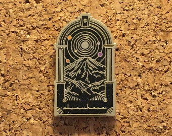 Elsewhere Lapel Pin STS9 V2