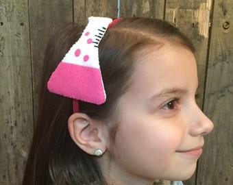 Beaker Headband  (from 100% recycled plastic bottle) - pink