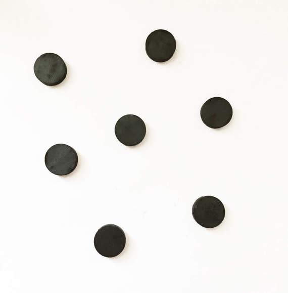 100 craft magnets round magnets strong magnets black for Small round magnets crafts