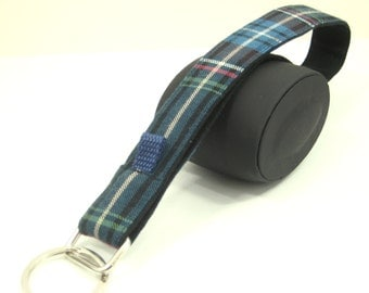 lanyard XL blue checkered