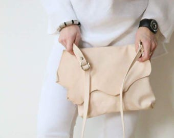 "Leather bag ""Pure Nature"""