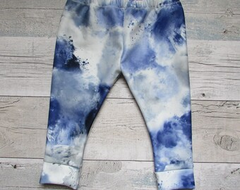 Blue Cloud Baby and Toddler Leggings