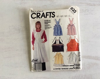 Apron Sewing Pattern From 1986
