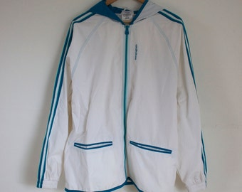 Vintage 90's Adidas Shell top Zip up hoody