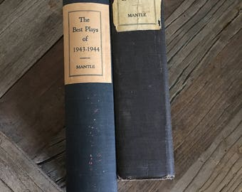 The Best Plays of 1943-1944, 1926-1927, Burns Mantle, Vintage, Book, Literature, Theatre