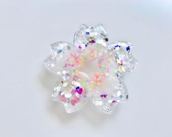 Pastel Sakura Flower Brooch