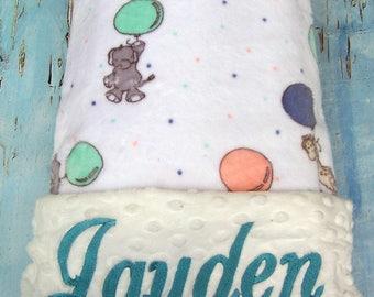 Blanket, Baby Gift, Baby Shower Gift, Personalized Baby Blanket, Baby Blanket, Boy Blanket, Girl Blanket, Minky Blanket, Embroidered Blanket