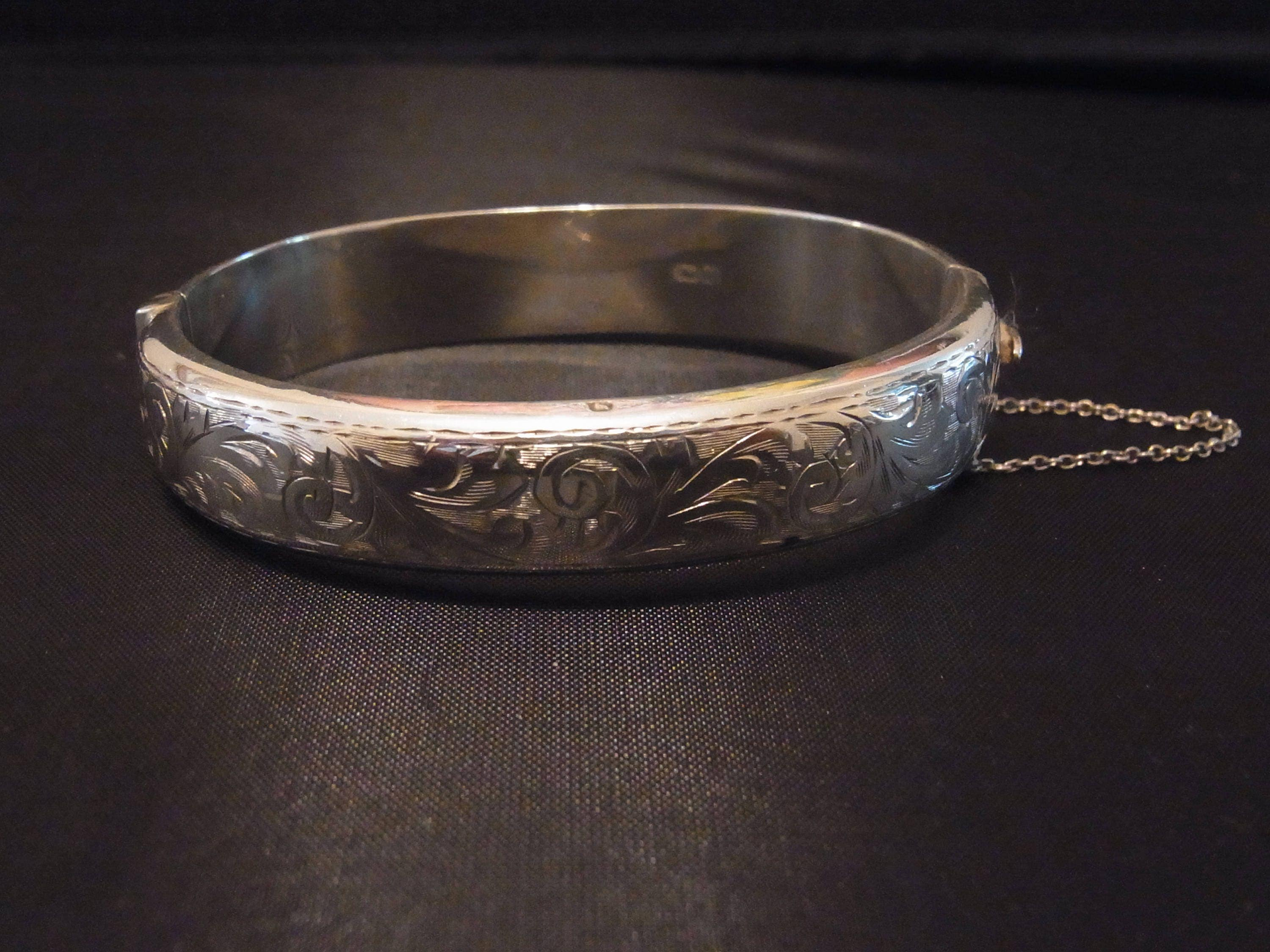 shipping silver sterling overstock balinese plain indonesia bracelet product free jewelry watches handmade bangles flora today bracelets and gold bangle
