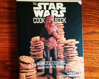 The Star Wars Cookbook, Wookiee Cookies and Other Galactic Recipes, Hardcover Book