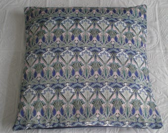 Liberty of London Fabric Cushion Cover - Ianthe Navy