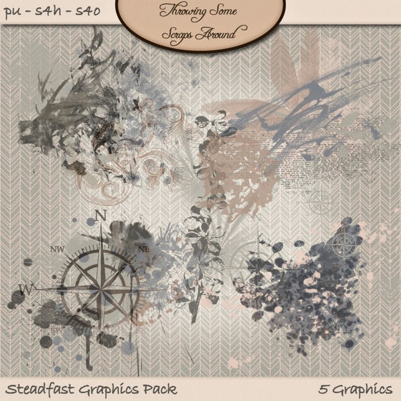Digital Scrapbook, Graphics, Stamps: Steadfast