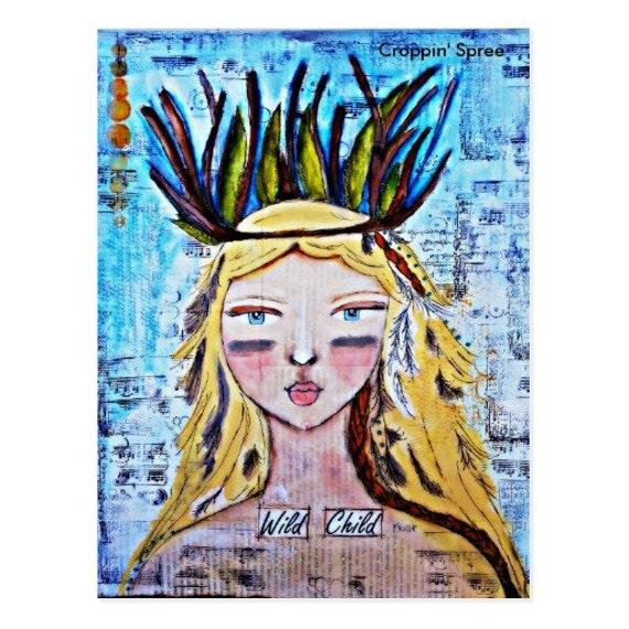 Croppin' Spree Postcard Art
