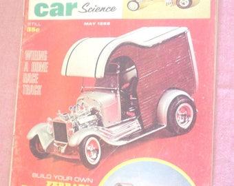 May 1966 IND Model Car Science Magazine Surf Slab Batmobile Model Makers Wiring Home Race Track Ferrari Racing Team Power Brakes Slot Cars