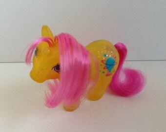 G1 My Little Pony GUSTY: Baby Sparkle Pony Unicorn
