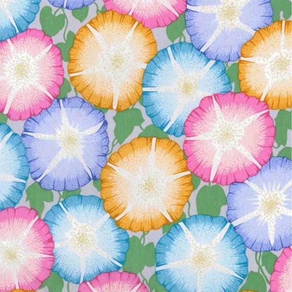 GLORY PASTEL pwpj085 Philip Jacobs for Kaffe Fassett Collective Sold in 1/2 yd increments