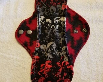 Cloth Pad/ Moderate Flow/ 11 inches Long