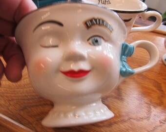 Vintage Baileys Face Mug
