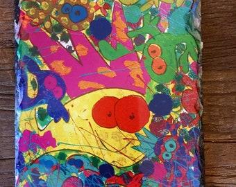 Slate art by Leroy Morvant