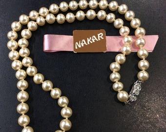 "Mallorca pearls ,20"" necklace"