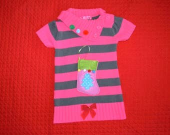 12 month, Baby Ugly Christmas Sweater Dress, girl, sweater dress