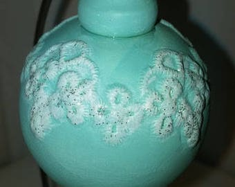 Lace Applique Ornament